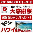 抽選でハワイ旅行や10万円相当の純金ポイントコインが当たる!