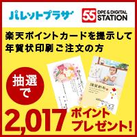2017年賀状キャンペーン